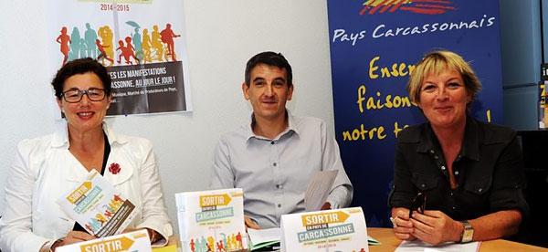 Conférence de presse pour la sortie Guide des Sorties en Pays de Carcassonne