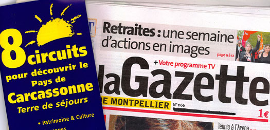 8 circuits dans la gazette